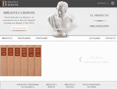 Biblioteca Bodoni